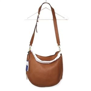 Rebecca Minkoff NWT tan leather shoulder hobo bag